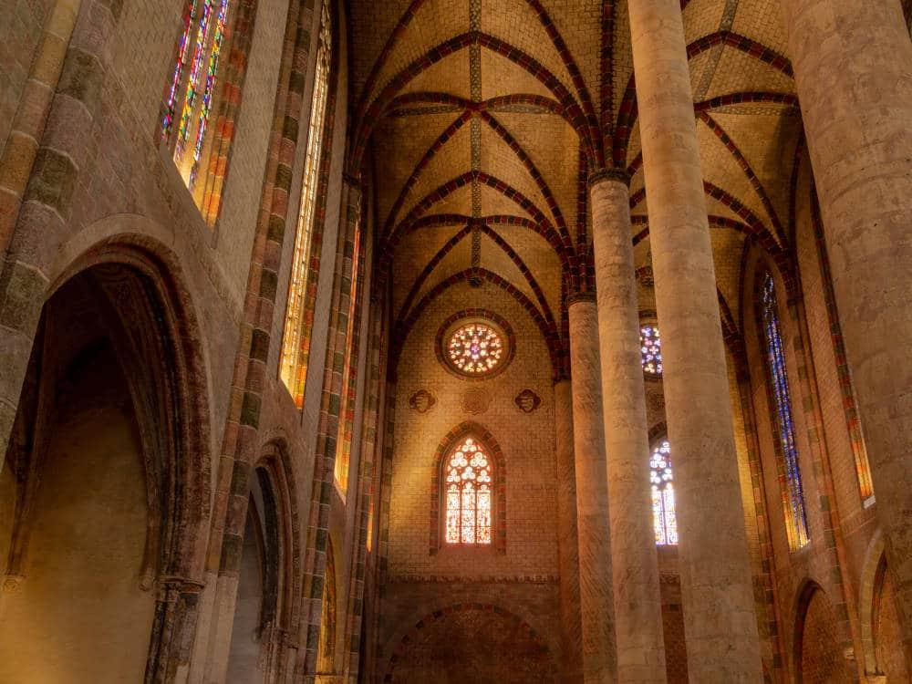 Photographie d'architecture du couvent des Jacobins à Toulouse réalisée par Pierre-Loup Ducout