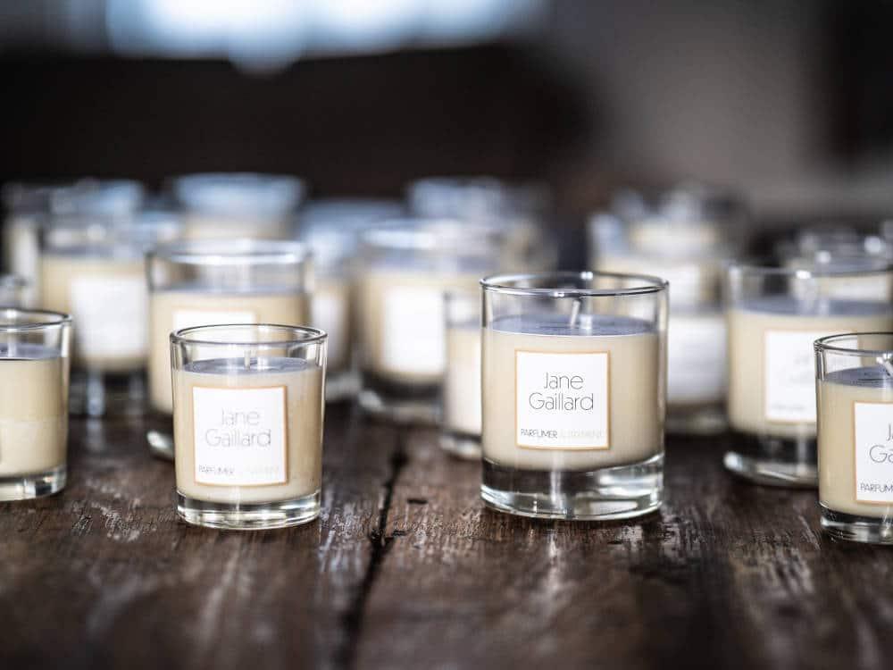 Photo-reportage réalisé pour l'artisan Jane Gaillard - Création de bougies 100% naturelles sur Tours
