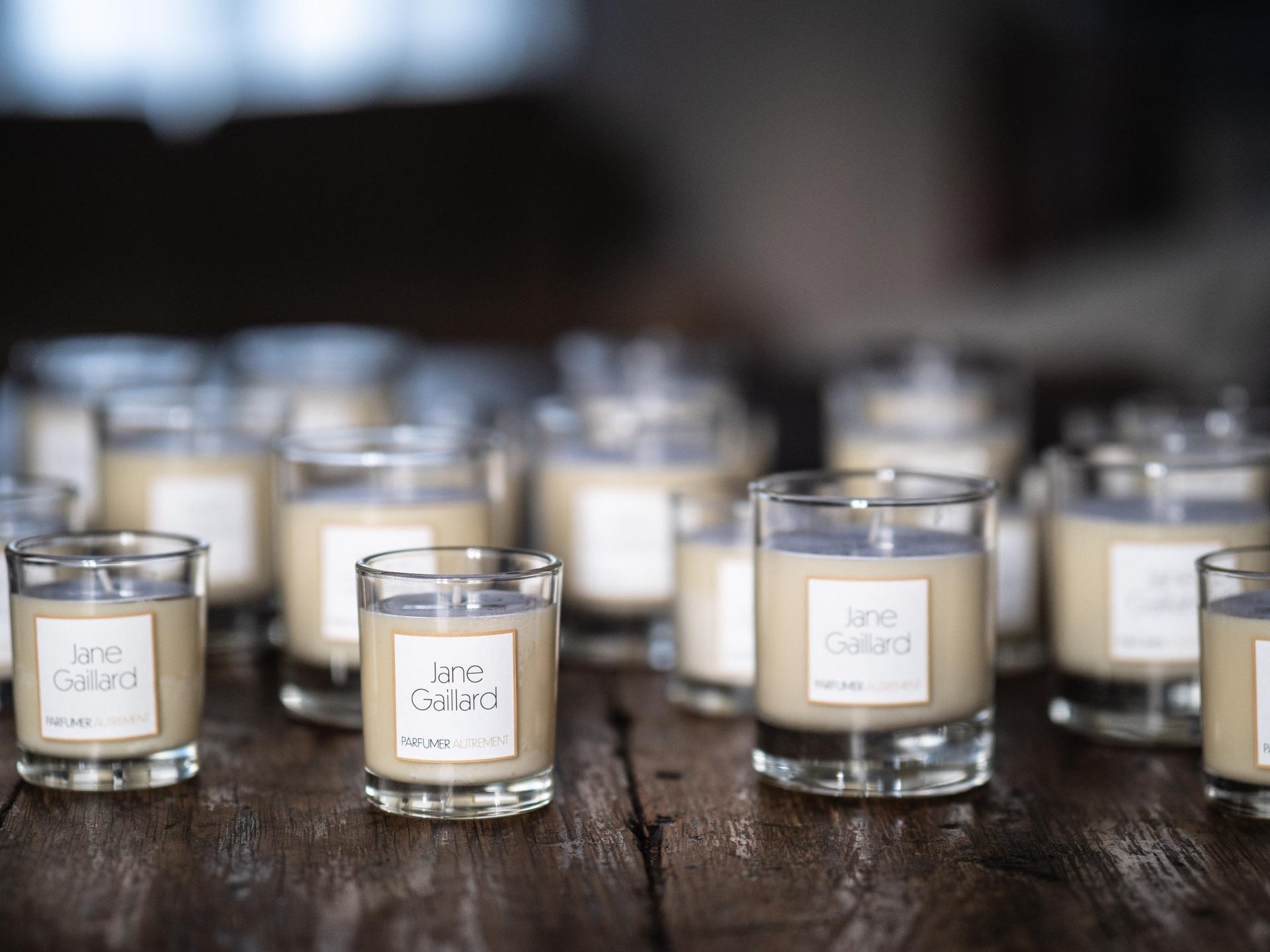 Photos de produits - Bougies naturelles fabriquées à Tours par Jane Gaillard